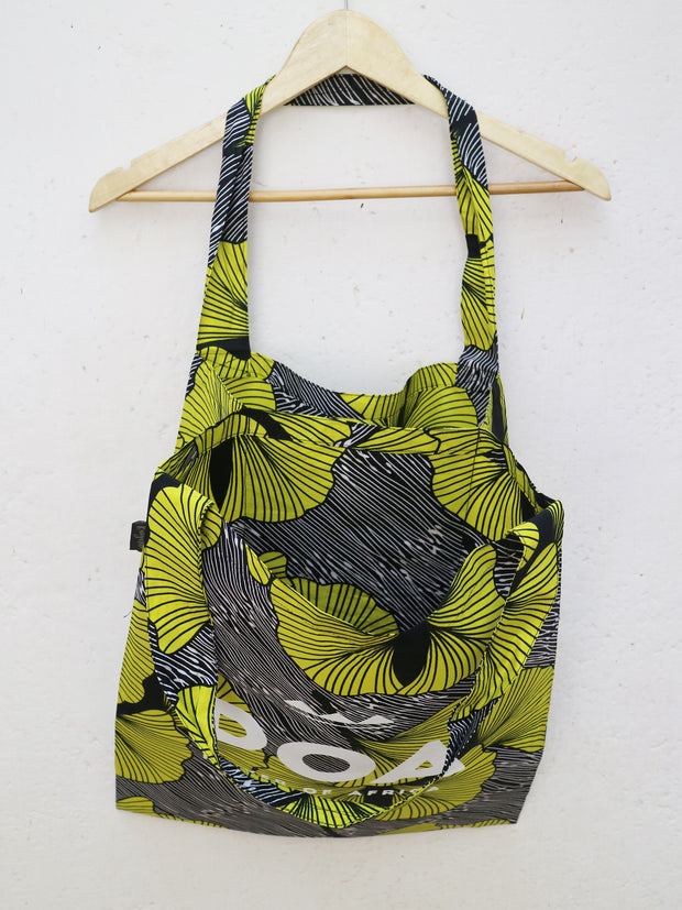 Black x Yellow POA Double Shopper