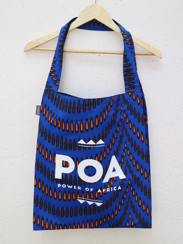 Blue x Black POA Double Shopper