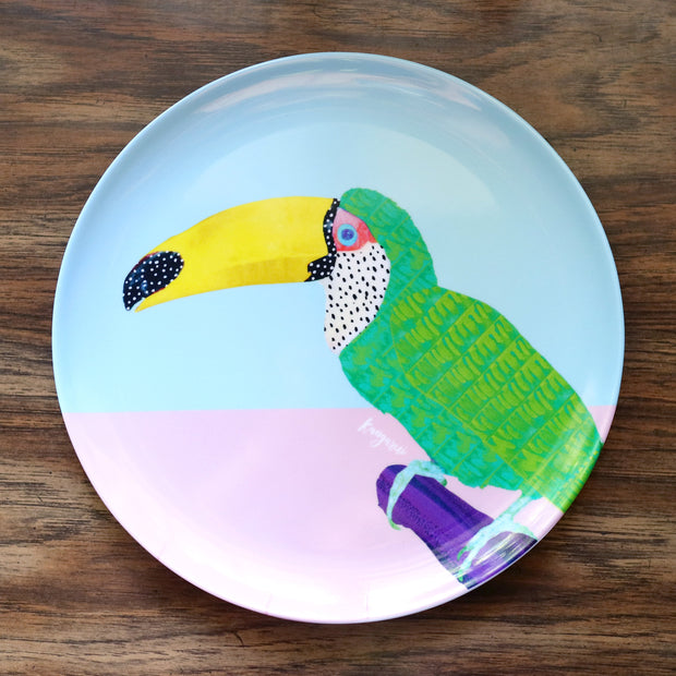 Chilling Toucan Adventure Plate