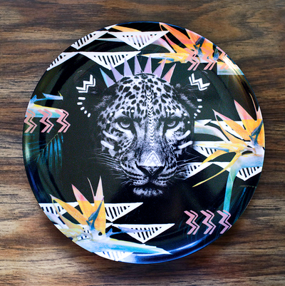 Fierce Leopard Adventure Plate