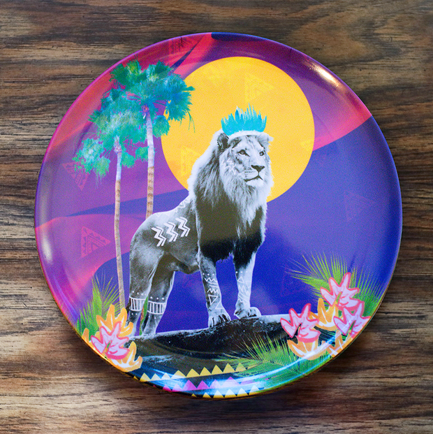 Stand Tall Simba Adventure Plate