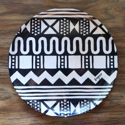 Tribal Zigzag Adventure Plate