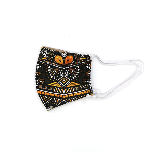 Tribal Happy Art Mask