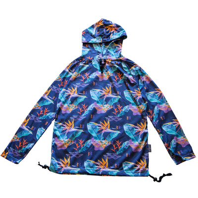 Unisex hoodie with Paradise Print