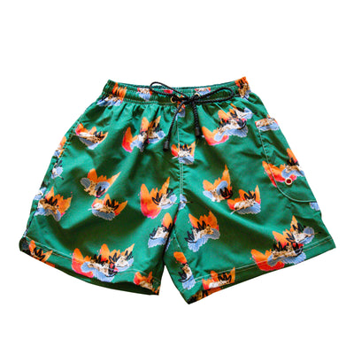 Unisex shorts with Chilling Cubs Print