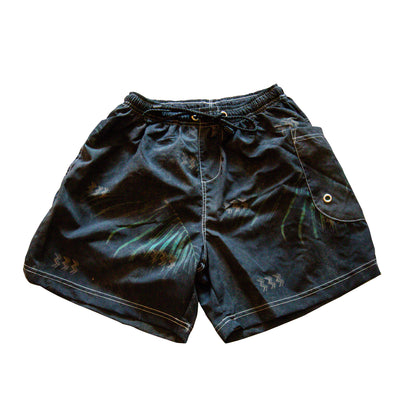 Unisex shorts with Fierce Palm Print