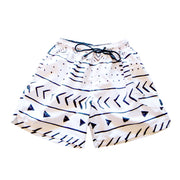 Unisex shorts with Mud Cloth Print