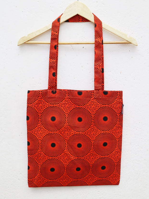 Red x Dots POA Tote