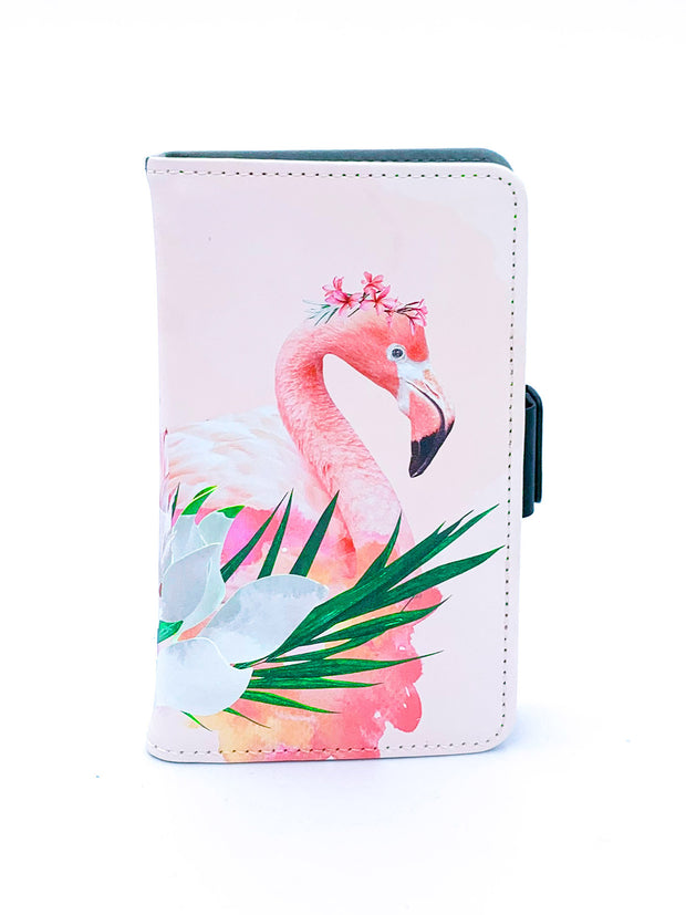 Floral Flamingo Wild Phone Case