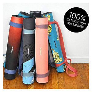 Best Foldable Yoga Mat With Premium Carry Strap Free
