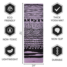 Load image into Gallery viewer, Best Yoga Mat for Hot Yoga with Extra Straps For Free