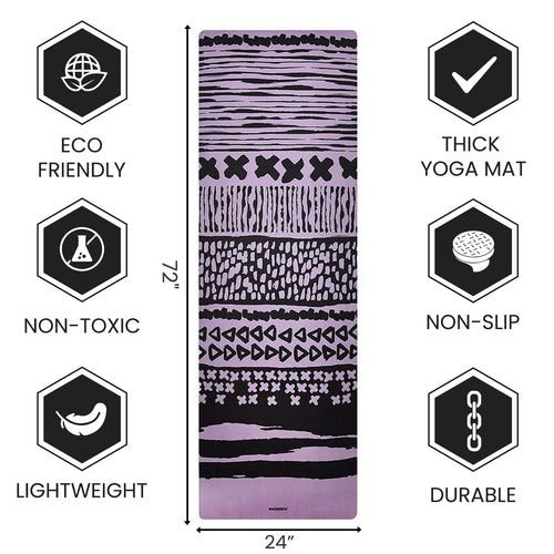 Best Yoga Mat for Hot Yoga with Extra Straps For Free