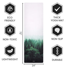 Load image into Gallery viewer, Best Non Slip Yoga Mat - 1.5 mm Thick Fordable Mat