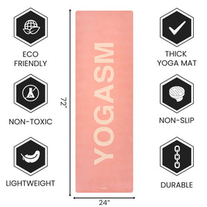 YOGASM Anti-Slip Yoga Mat