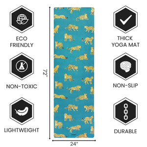 Workout Mat - 1.5 mm Thick Fordable Mat