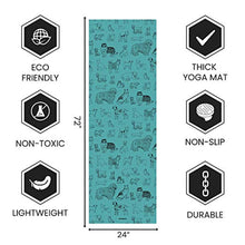 Load image into Gallery viewer, Exercise Yoga Mat - 1.5 mm Thicker