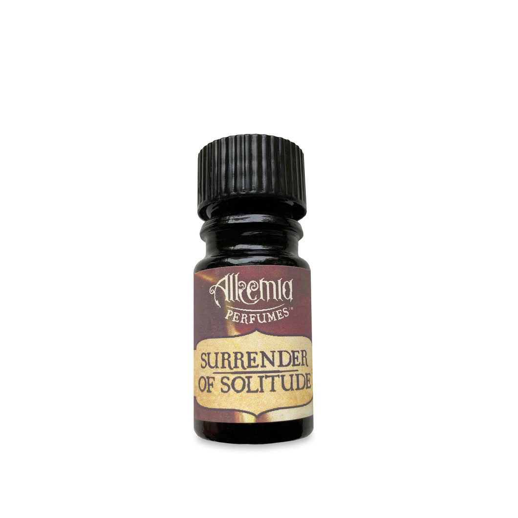 Surrender of Solitude - Dark Merlot, Cashmere Blankets, Meditative Incense, Peony Petalss