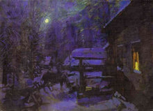 Load image into Gallery viewer, Falling Stars on Winter Solstice - Balsam pine, Dark myrrh, Somalian Frankincense, Snow, Woodsmoke