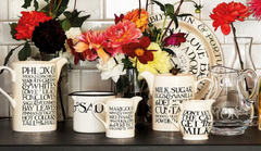 Various pieces of Emma Bridgewater Pottery