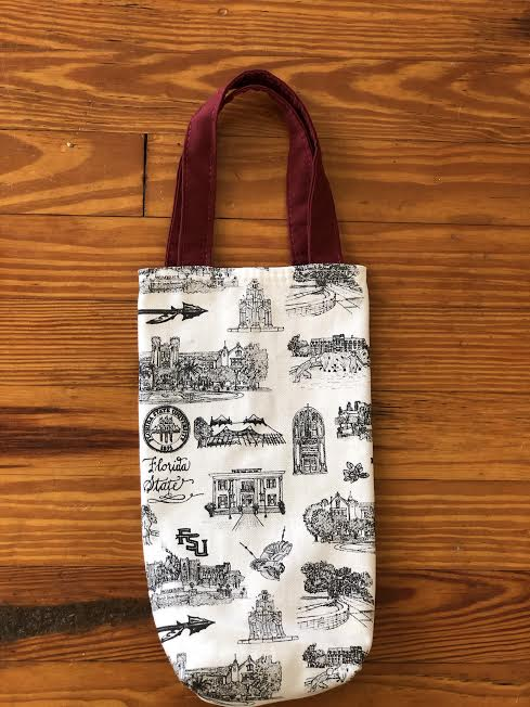 Toile of FSU™ Wine Tote
