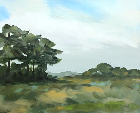 Jeanie Wood Painting - St. James Island (30x40 inches)