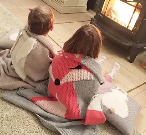 Fox and Bunny Blankets by Mama Siesta