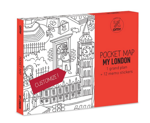 OMY Pocket Map - London