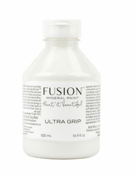 Pictured is a 500mL bottle of Fusion Ultra Grip.