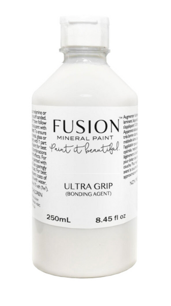 Pictured is a 250mL bottle of Fusion Ultra Grip.