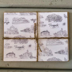 Toile of Thomasville Notecards