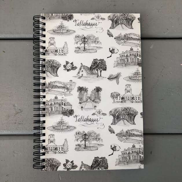 Toile of Tallahassee™ Notebook
