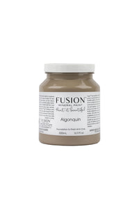 A pint (500 ml) container of Algonquin Fusion Mineral Paint.