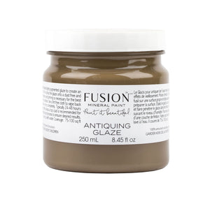 A 250mL container of Fusion Glaze containing Antiquing Glaze.