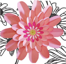 Load image into Gallery viewer, Paper Flower daisy DIY kit
