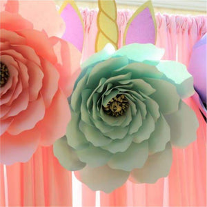 Made up Paper Garden Rose