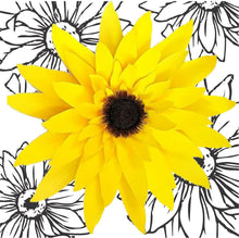 Load image into Gallery viewer, Made up Paper Sunflower