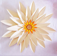 Load image into Gallery viewer, Paper Flower Gerbera Daisy Cream