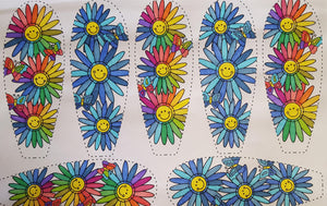 The Daisy Chain - Kids Colour Daisy (Age 8 - 12) - PDF Download