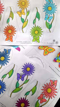 Load image into Gallery viewer, The Daisy Chain - Kids Colour Daisy (Age 4 - 7) - PDF Download