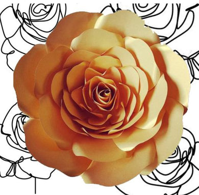 DIY Paper Koko Rose - Kit