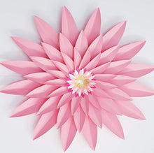 Load image into Gallery viewer, Paper Flower Gerbera Daisy Pink