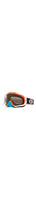 OAKLEY CROWBAR MX GOGGLE (CIRCUIT ORANGE/BLUE) DARK GREY LENS