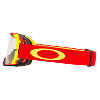 OAKLEY AIRBRAKE MX GOGGLE (RED/YELLOW) CLEAR LENS