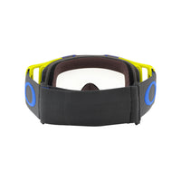 OAKLEY FRONT LINE MX GOGGLE (BLUE/GREEN) CLEAR LENS
