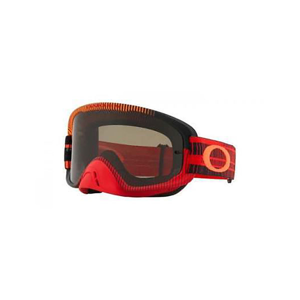 OAKLEY O FRAME 2.0 MX GOGGLE (FREQUENCY RED/ORANGE) CLEAR & DARK GREY LENS