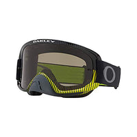 OAKLEY O FRAME 2.0 MX GOGGLE (FREQUENCY GUNMETAL GREEN) CLEAR & DARK GREY LENS