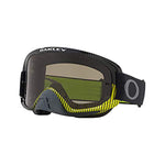 OAKLEY O FRAME 2.0 SAND MX GOGGLE (FREQUENCY GUNMETAL GREEN) CLEAR & DARK GREY LENS