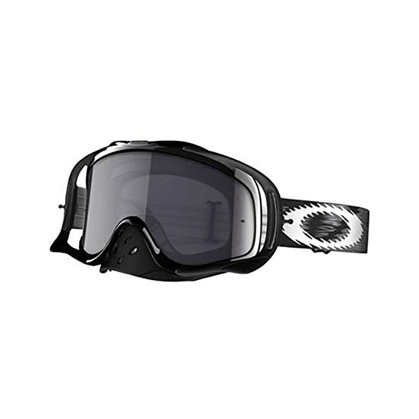 OAKLEY CROWBAR SAND MX GOGGLE (JET BLACK SPEED) CLEAR & DARK GREY LENS