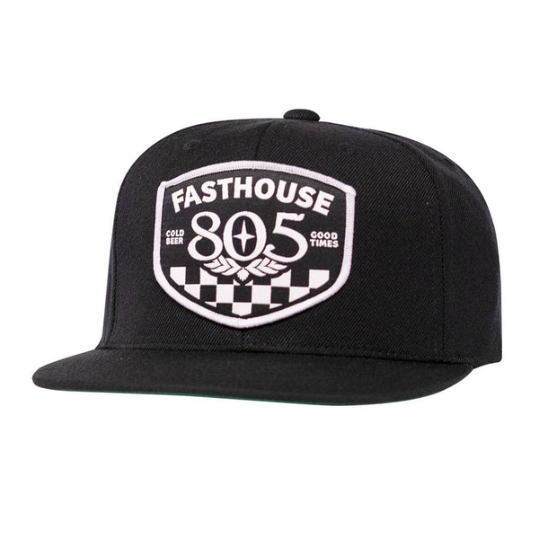 FASTHOUSE 805 PITSTOP HAT BLACK