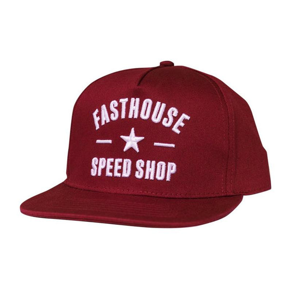 FASTHOUSE SPEED STAR HAT MAROON